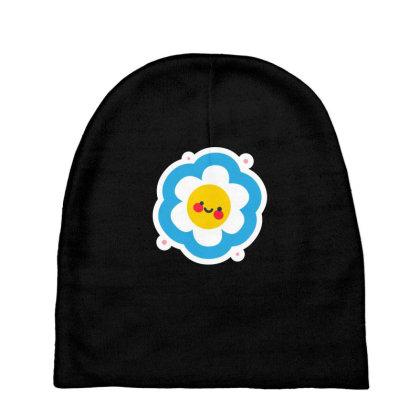 Flower Sun Baby Beanies Designed By Designsbymallika