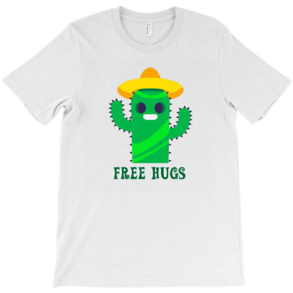 Free Hugs T-shirt Designed By Designsbymallika