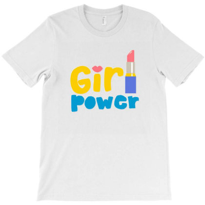 Girl Power T-shirt Designed By Designsbymallika