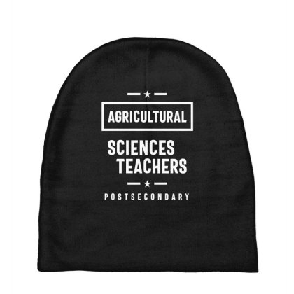 Agricultural Sciences Teachers Job Title Gift Baby Beanies Designed By Cidolopez