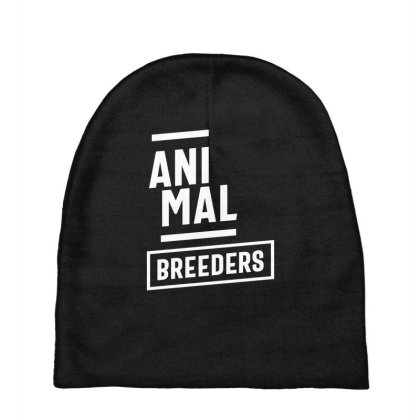 Animal Breeders Job Title Gift Baby Beanies Designed By Cidolopez