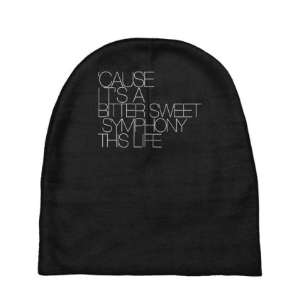 The Verve Bitter Sweet Symphony Baby Beanies Designed By Funtee