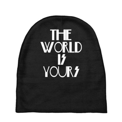 The World Is Yours Baby Beanies Designed By Funtee