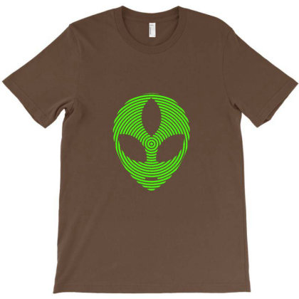 3rd Eye Alien T-shirt Designed By Sr88