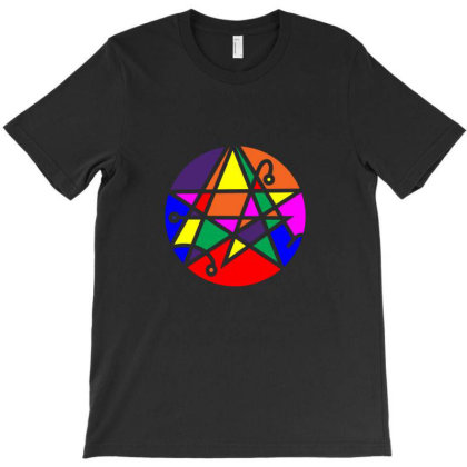 Rainbow Necronomicon T-shirt Designed By Sr88