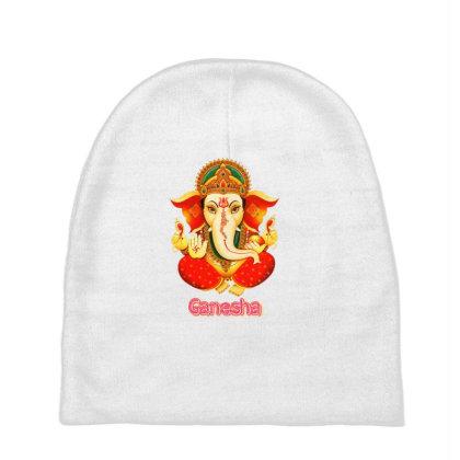 Lord Ganesha Baby Beanies Designed By Manoja Creation