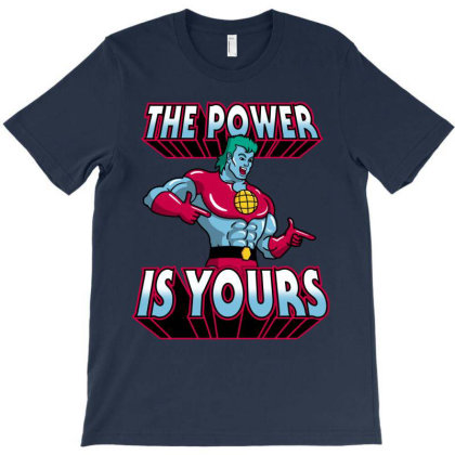 The Power Is Yours! T-shirt Designed By Raffiti