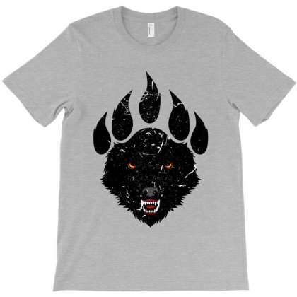Wolf Claw T-shirt Designed By Spoilerinc