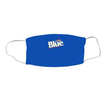 Labatt Blue Beer Face Mask Rectangle Designed By Nurmasit1
