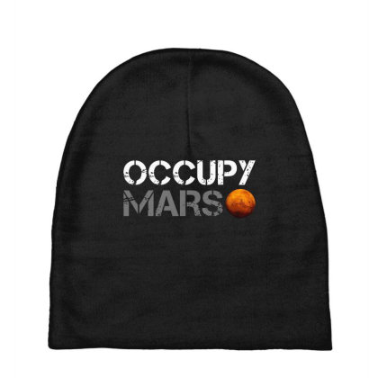 Awesome Occupy Mars Baby Beanies Designed By Colla Store
