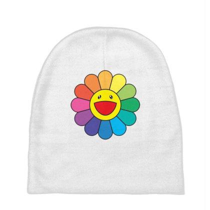 Takashi Murakami Flower Rainbow Baby Beanies Designed By Kakashop