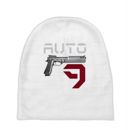 Gun Auto 9 Baby Beanies Designed By Aim For The Face
