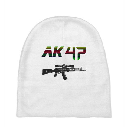 Rifle Ak 47 Baby Beanies Designed By Aim For The Face