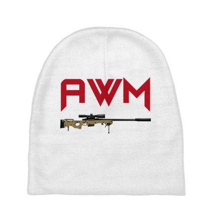 Sniper Rifle Awm Baby Beanies Designed By Aim For The Face