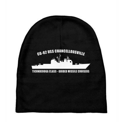 Cruiser Ship Uss Chancellorsville Baby Beanies Designed By Aim For The Face