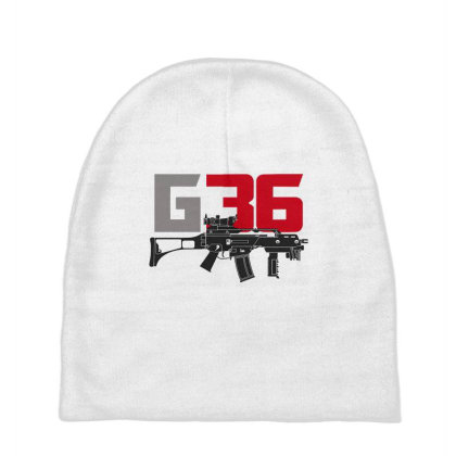 Sub Machine Gun G36 Baby Beanies Designed By Aim For The Face