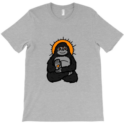Spirit Animal Gorilla T-shirt Designed By Sr88
