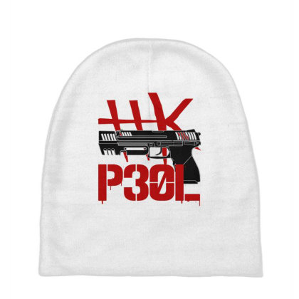 Handgun Hk P30l Baby Beanies Designed By Aim For The Face