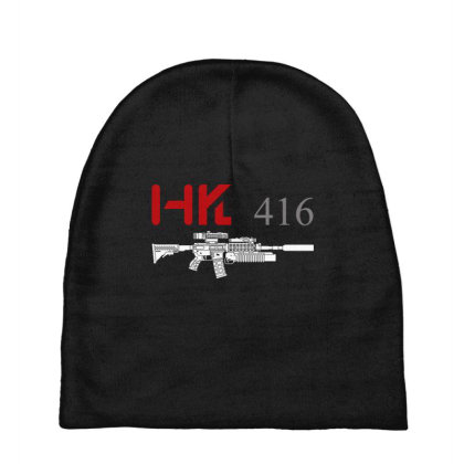 Rifle Hk 416 With Grenade Launcher Baby Beanies Designed By Aim For The Face
