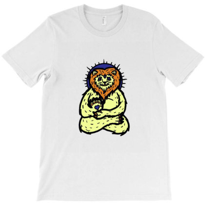 Spirit Animal Lion T-shirt Designed By Sr88