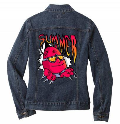 Summer Ladies Denim Jacket Designed By Happo