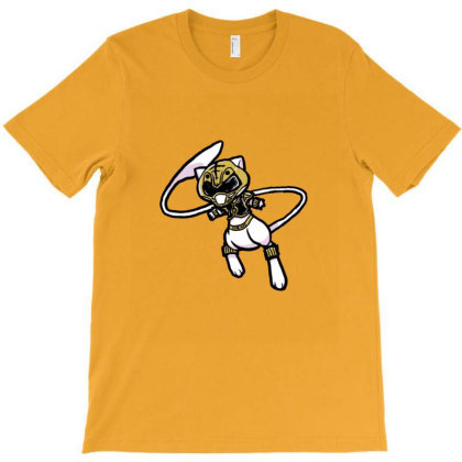 White Ranger Cat T-shirt Designed By Sr88