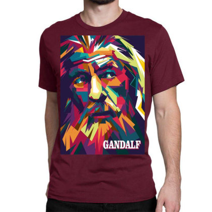 Gandalf Classic T-shirt Designed By Zhianwpap