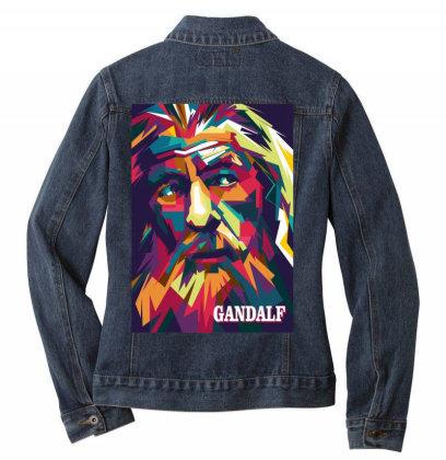 Gandalf Ladies Denim Jacket Designed By Zhianwpap
