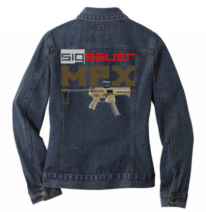 Sig Sauer Mpx Ladies Denim Jacket Designed By Aim For The Face
