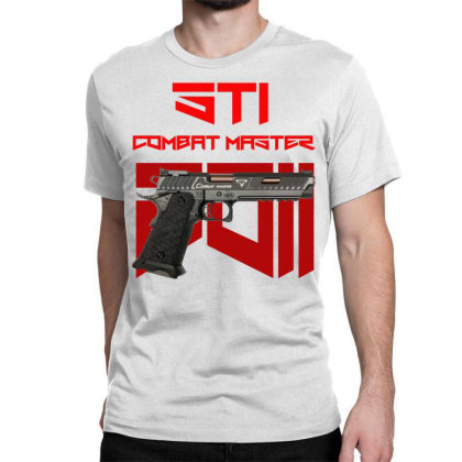 Sti Combat Master 2011 Classic T-shirt Designed By Aim For The Face