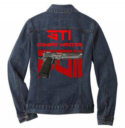Sti Combat Master 2011 Ladies Denim Jacket Designed By Aim For The Face