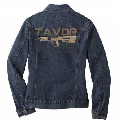 Tavor X95 Ladies Denim Jacket Designed By Aim For The Face