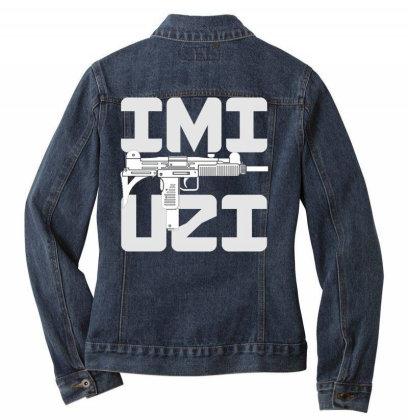 Uzi Ladies Denim Jacket Designed By Aim For The Face