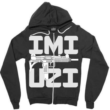 Uzi Zipper Hoodie Designed By Aim For The Face
