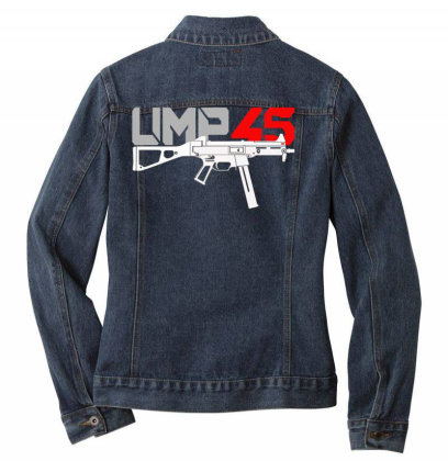 Ump 45 Ladies Denim Jacket Designed By Aim For The Face