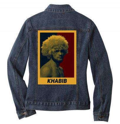 Khabib Ladies Denim Jacket Designed By Kaydestx