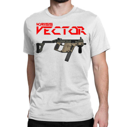 Kriss Vector Classic T-shirt Designed By Aim For The Face