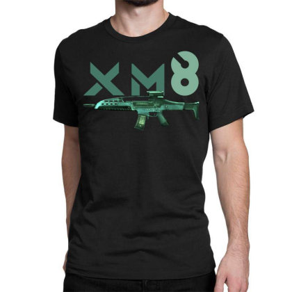 Rifle Xm8 Classic T-shirt Designed By Aim For The Face