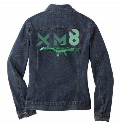 Rifle Xm8 Ladies Denim Jacket Designed By Aim For The Face