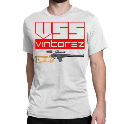 Vss Vintorez Classic T-shirt Designed By Aim For The Face