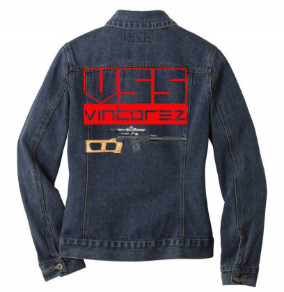Vss Vintorez Ladies Denim Jacket Designed By Aim For The Face