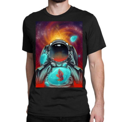Beautiful Space Classic T-shirt Designed By Septianmasna