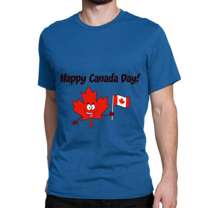 Happy Canada Day Classic T-shirt Designed By Redline77