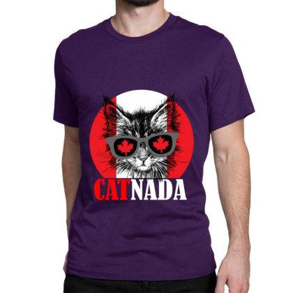 Catnada Funny Classic T-shirt Designed By Redline77