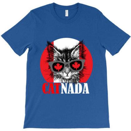 Catnada Funny T-shirt Designed By Redline77
