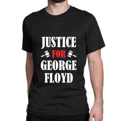 Justice For George Floyd Classic T-shirt Designed By Redline77