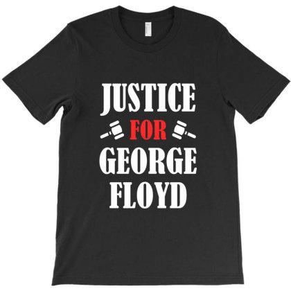 Justice For George Floyd T-shirt Designed By Redline77