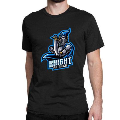 Knight Attack Classic T-shirt Designed By Estore