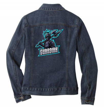 Gurrdian Ladies Denim Jacket Designed By Estore
