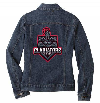 Gladitors Knight Ladies Denim Jacket Designed By Estore